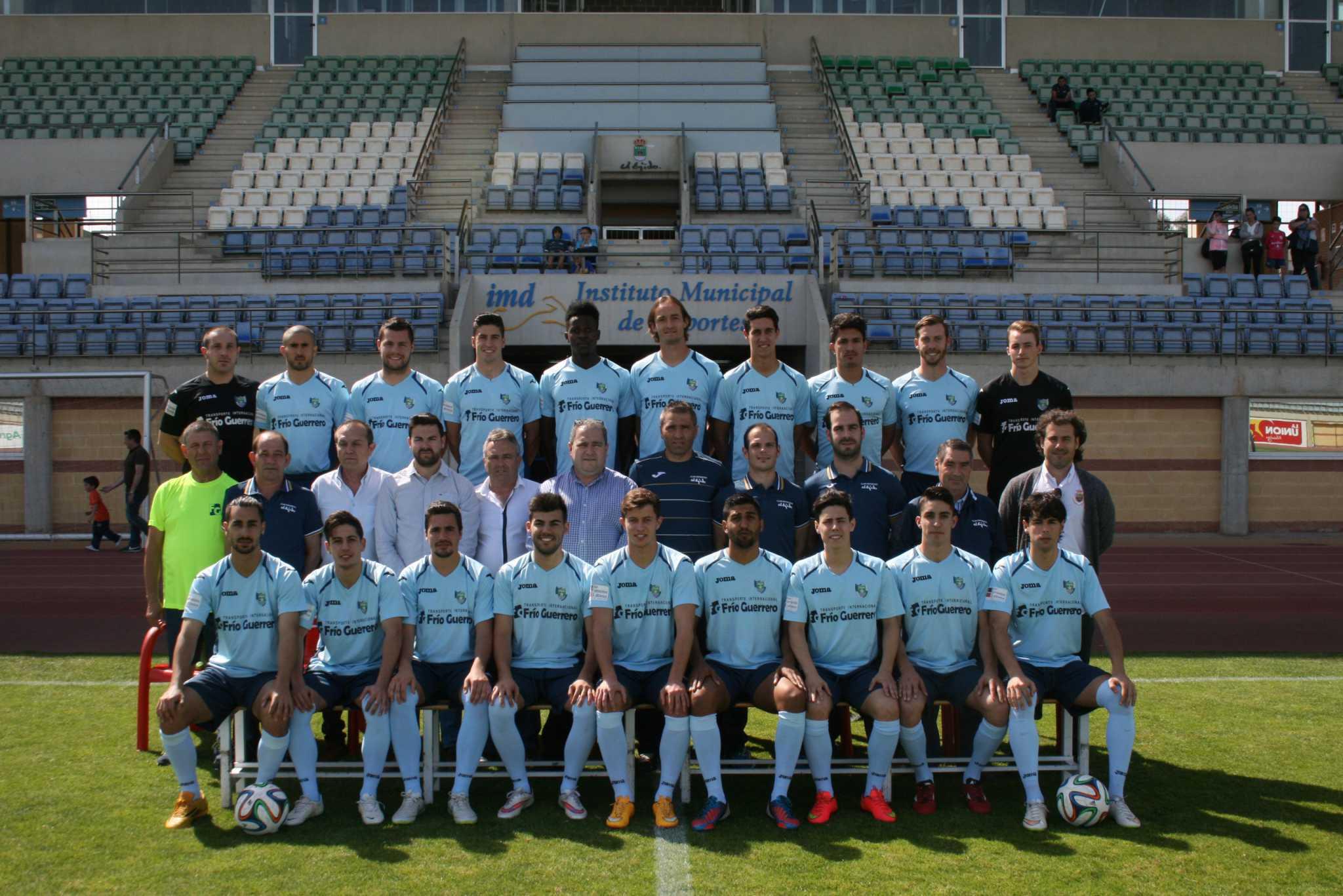 Bienvenidos a la web oficial del Club Deportivo El Ejido