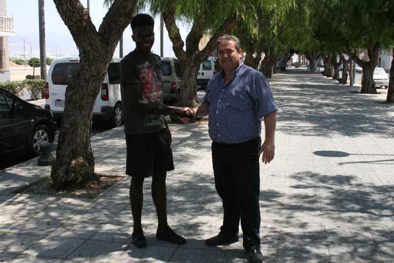 Admonio y el CD El Ejido 2012 acuerdan larenovación tras unas intensas conversaciones