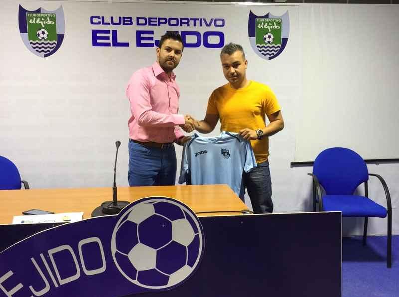 Nuevo coordinador del futbol base del CD EL Ejido
