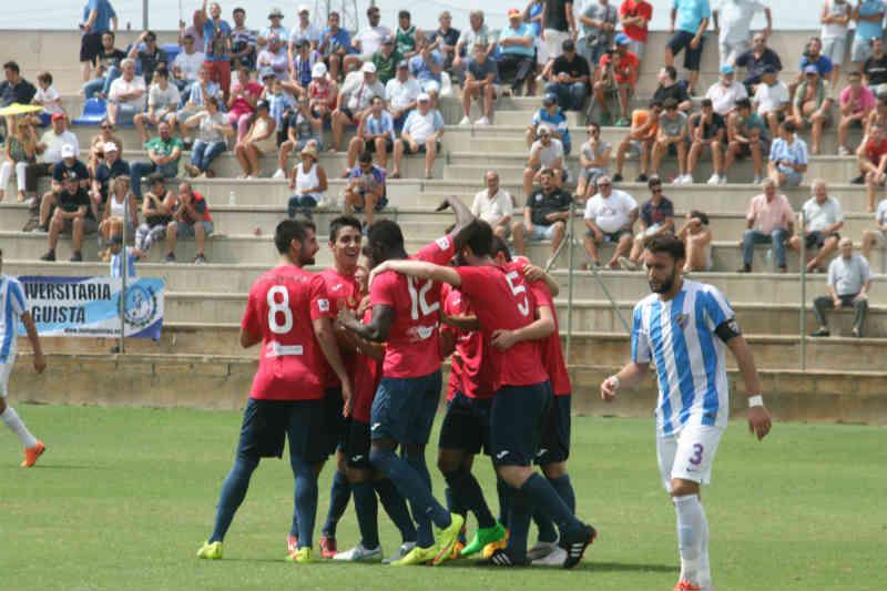 Gran reacción ante el Atlético Malagueño (3-3)