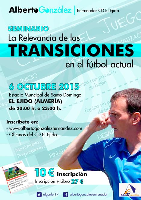Las transiciones este martes por Alberto González