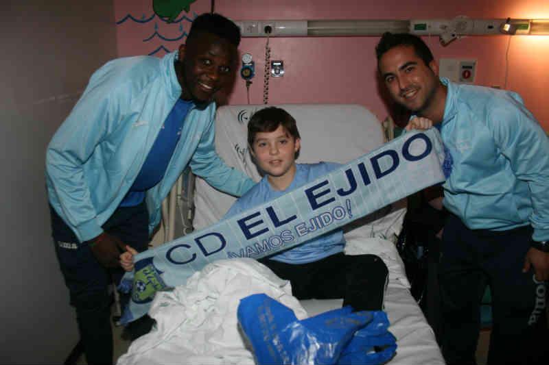 Con los niños hospitalizados