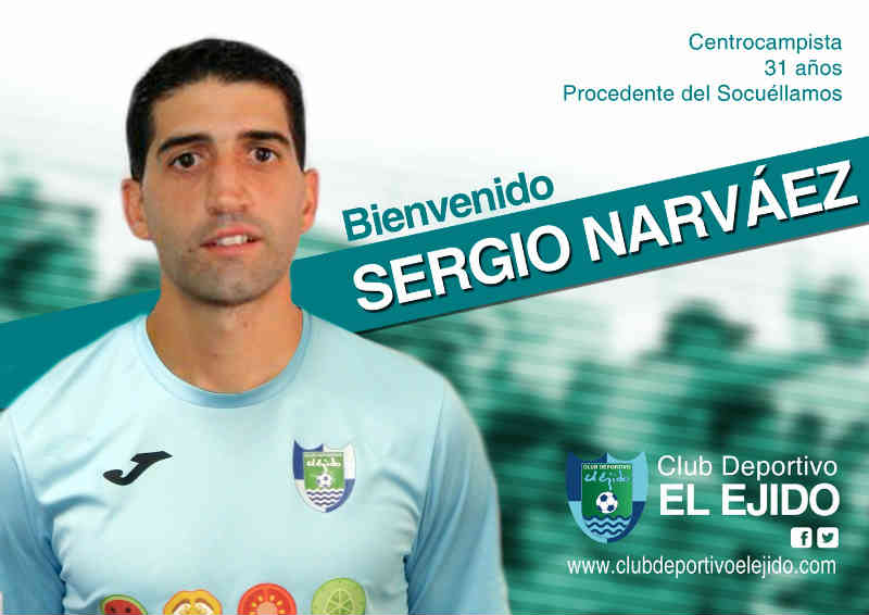 Llega Sergio Narváez