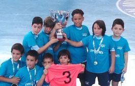 El benjamín del CD El Ejido reina en el fútbol sala andaluz.