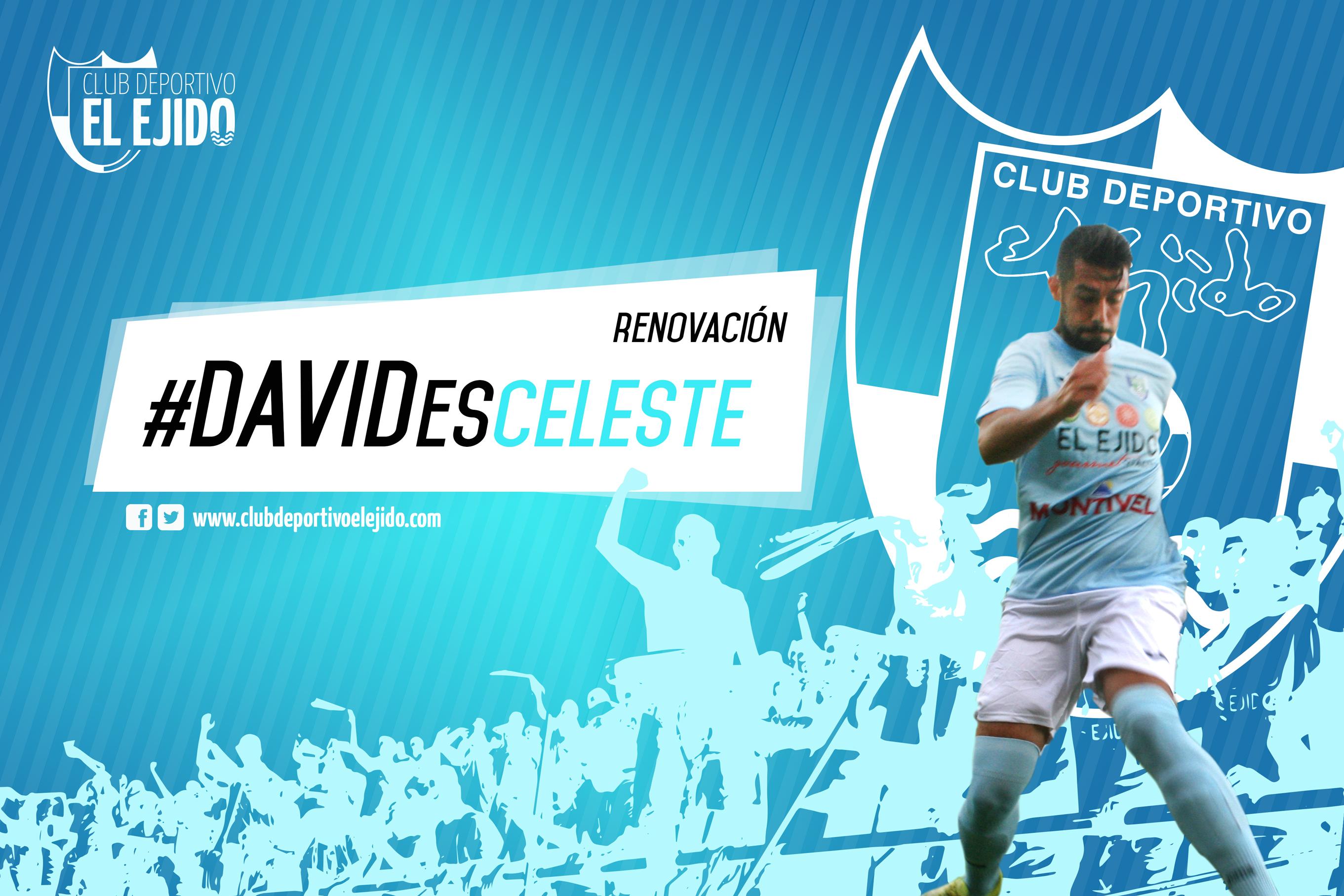 El ejidense David Fernández renueva por dos temporadas