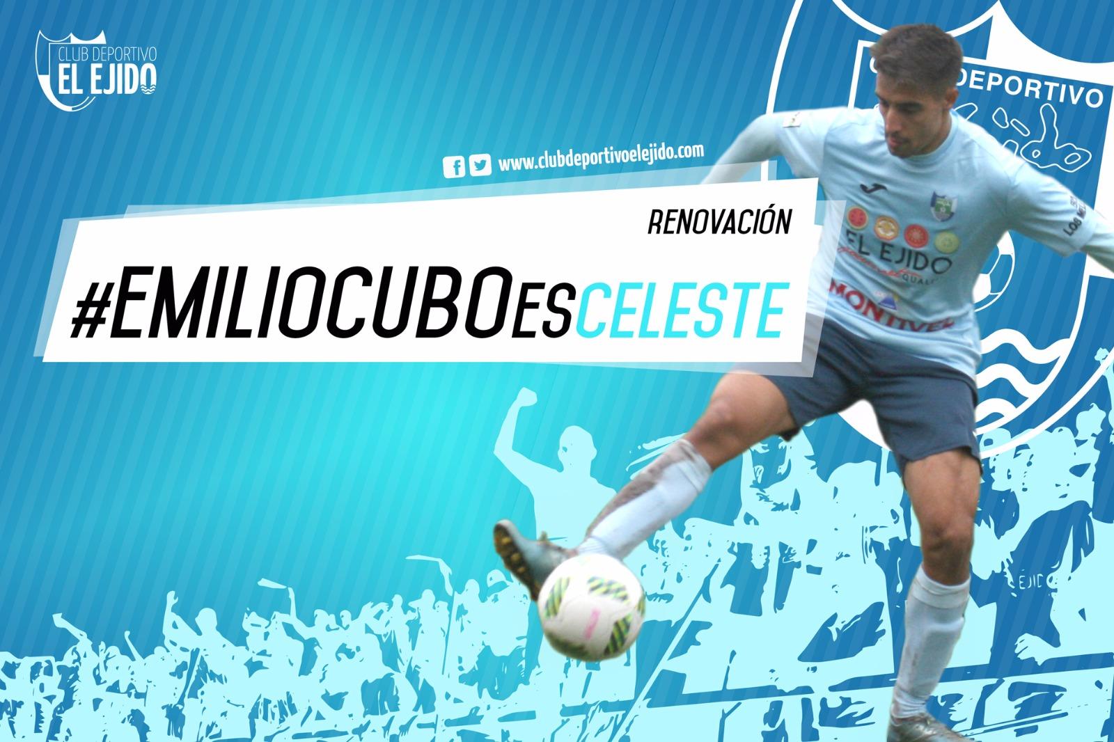 Emilio Cubo renueva por el CD El Ejido