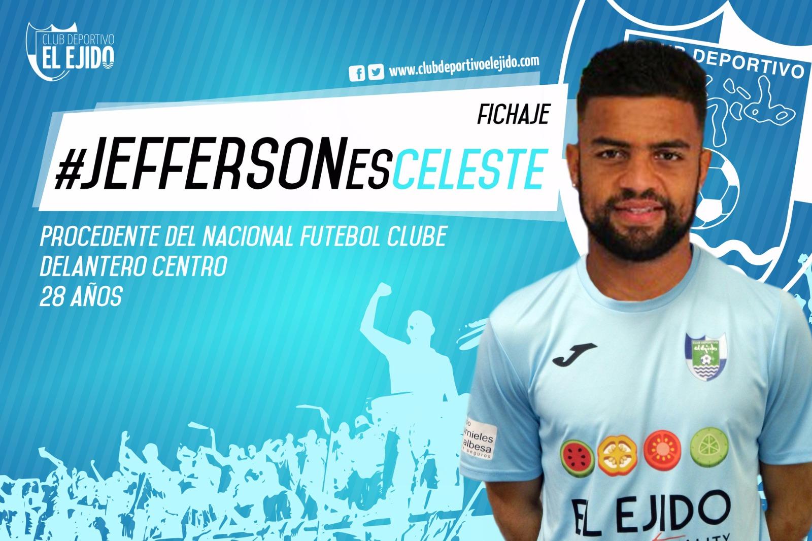El brasileño Jefferson refuerza la delantera celeste