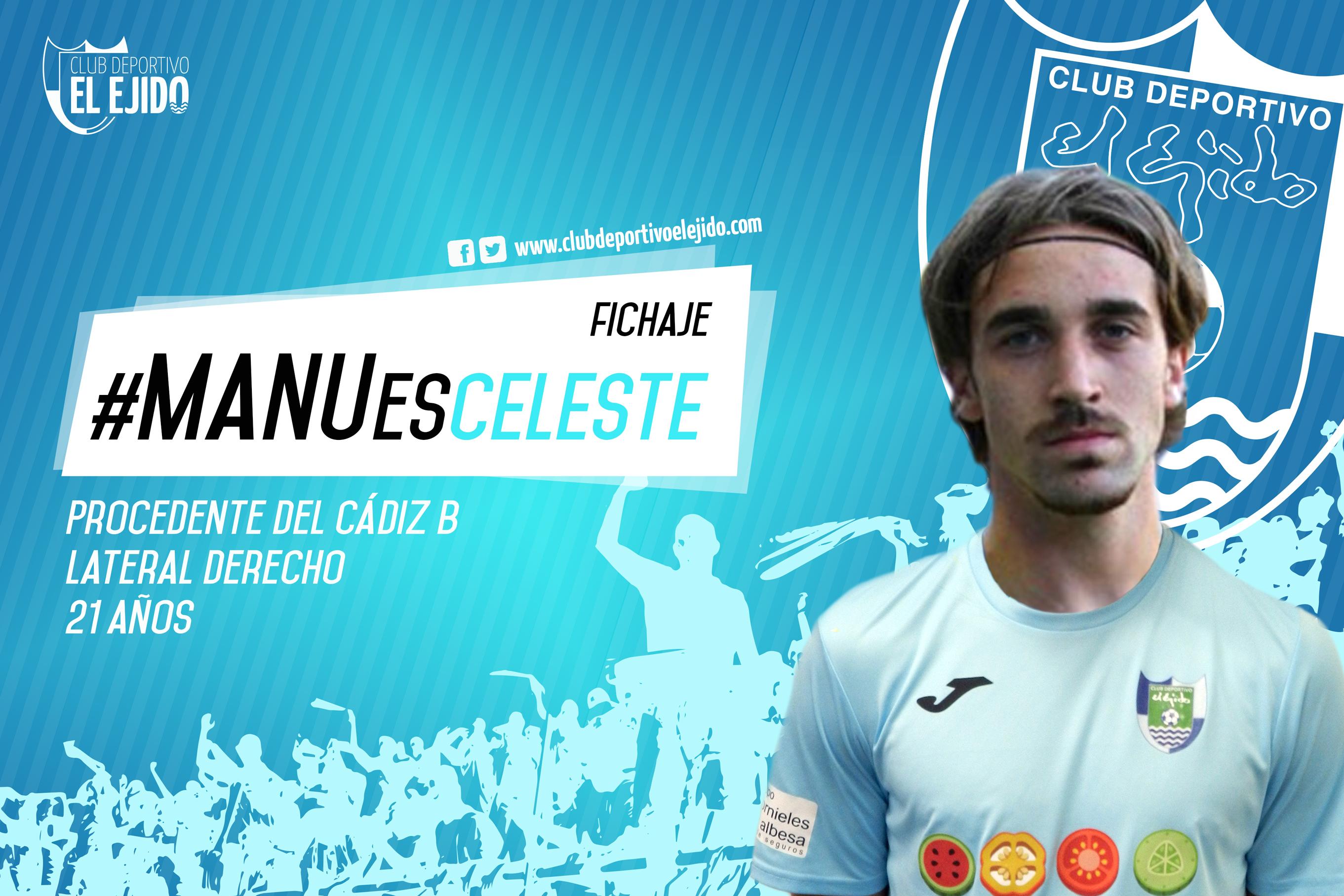 Manu Sánchez será celeste la próxima temporada