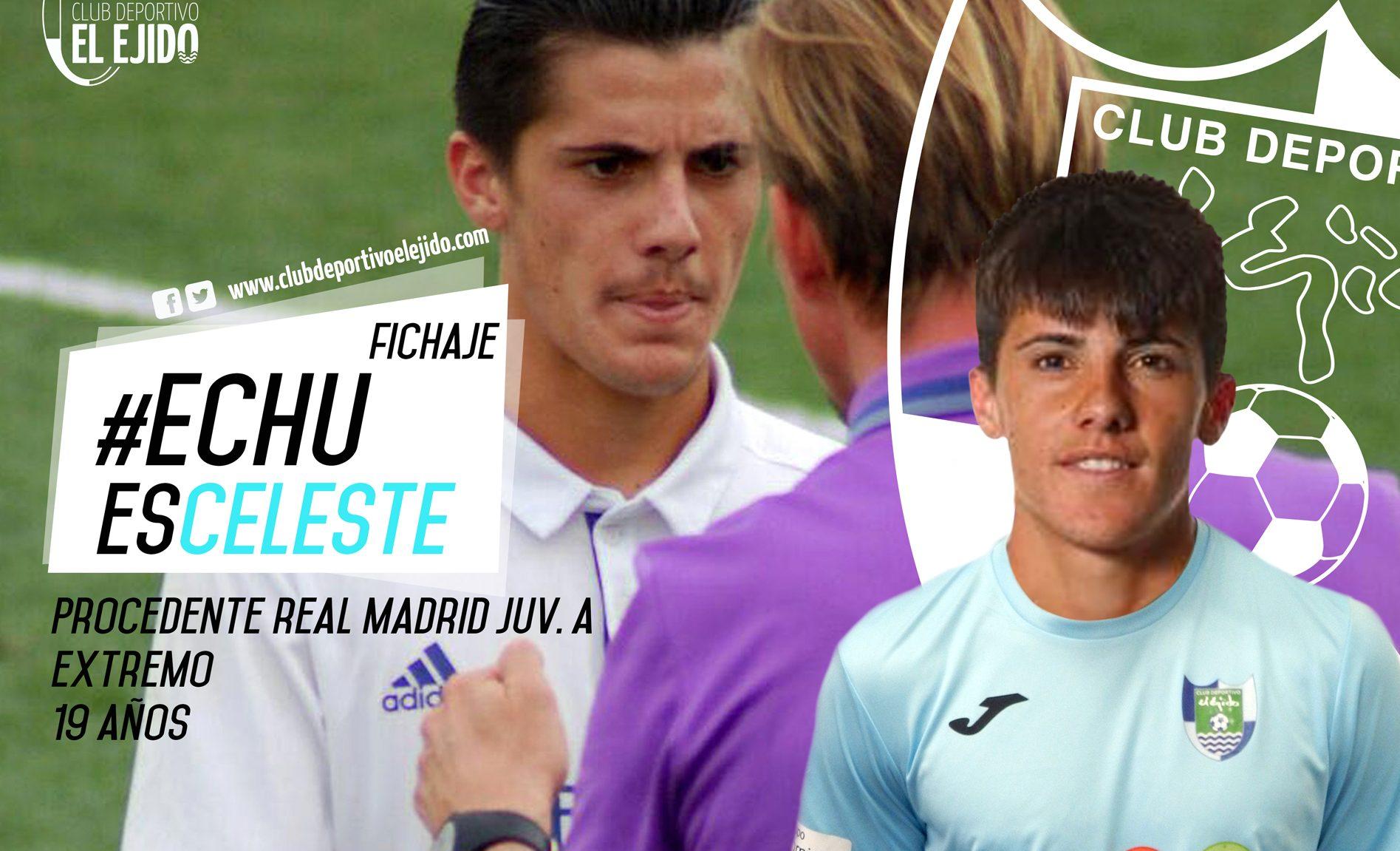 Echu Rodríguez vestirá la camiseta celeste la próxima temporada
