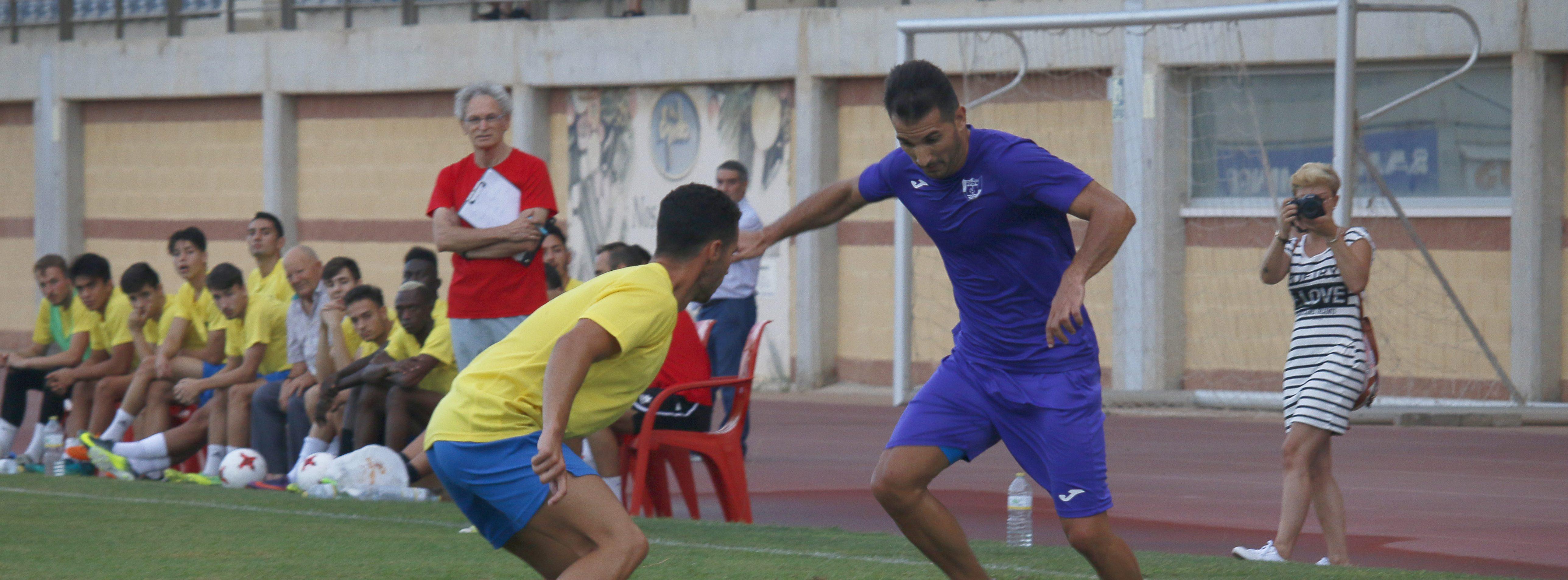Ante el Atlético Malagueño el sábado 29 en Santo Domingo