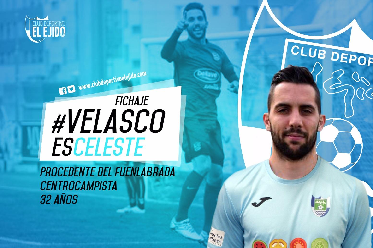 Fichaje, presentación y debut de Velasco con el CD El Ejido
