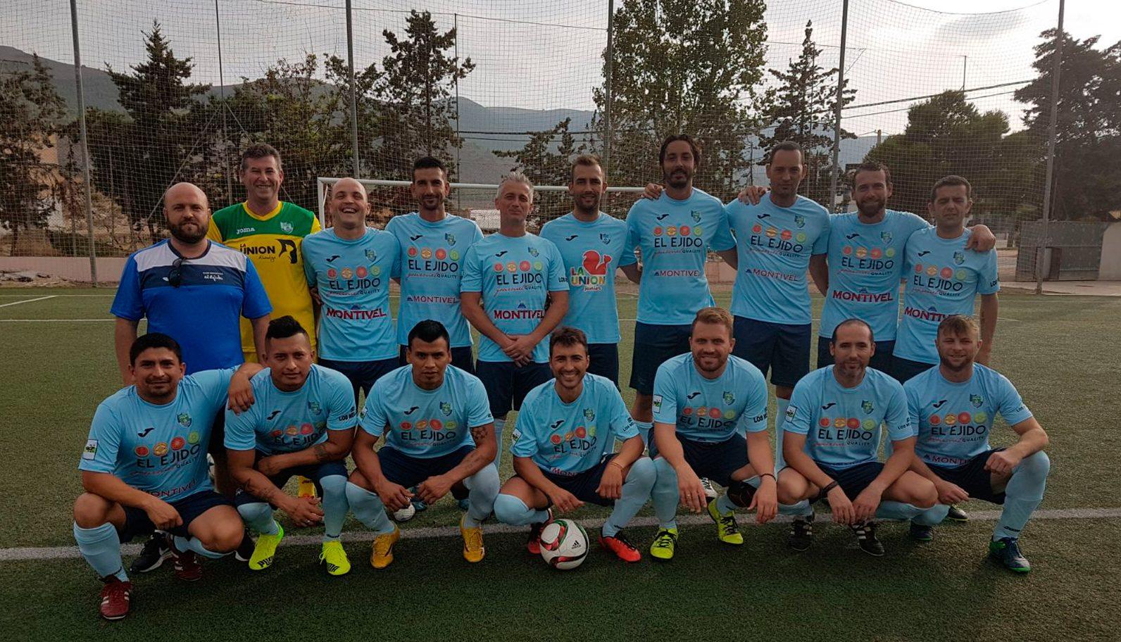 El CD El Ejido crea la sección de fútbol para veteranos