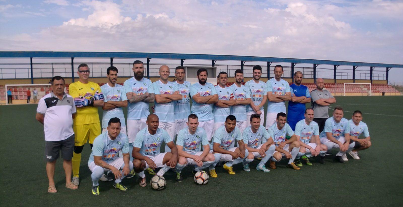 Los Veteranos del CD El Ejido finalistas del III Torneo Deportes Blanes en 2º división.