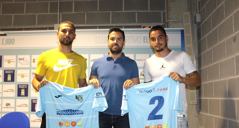 Garrido y Tomás, ilusionados con la nueva temporada
