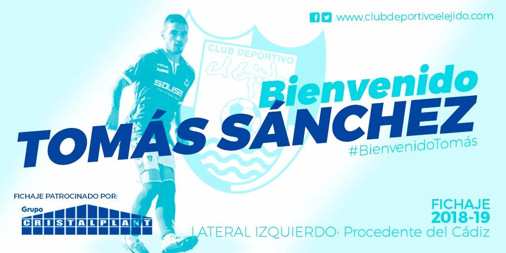 Tomás Sánchez potencia el carril izquierdo celeste