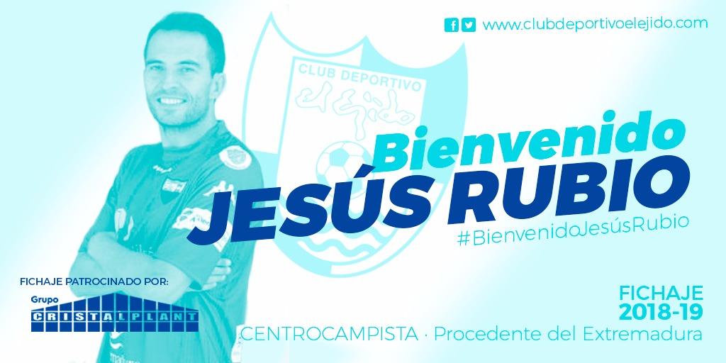 Jesús Rubio, la guinda del proyecto celeste
