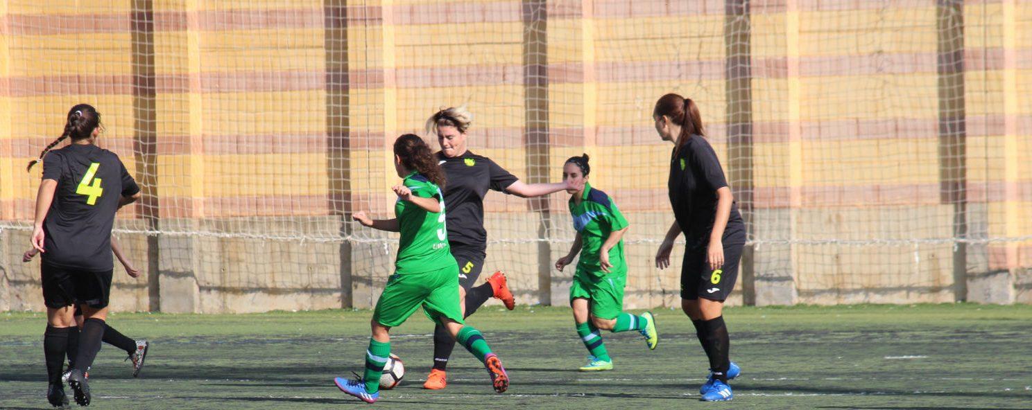 Victoria por 0-3 del equipo femenino de fútbol ante el Loma de Acosta