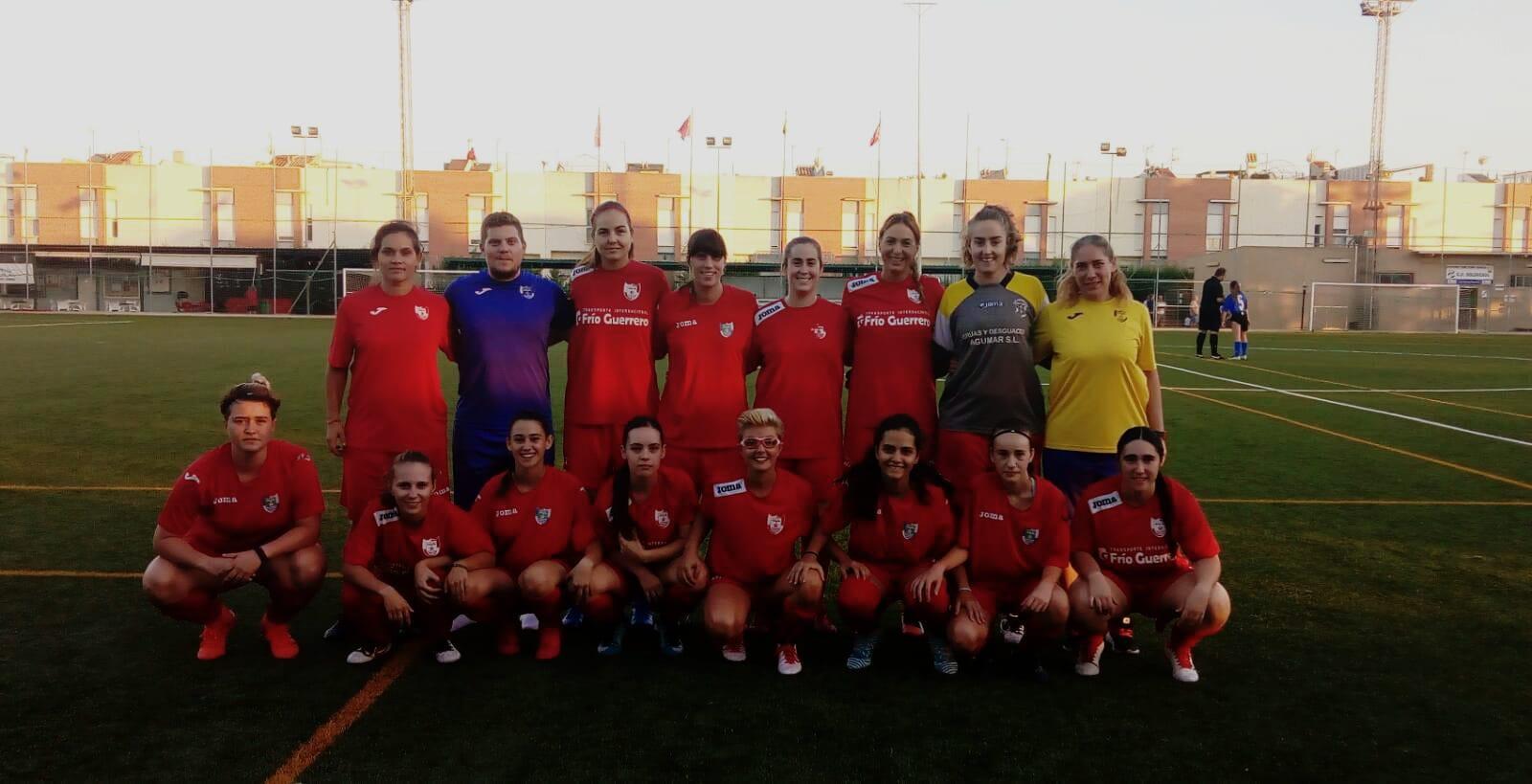 El equipo Femenino de Fútbol del CD El Ejido prepara el inicio liguero