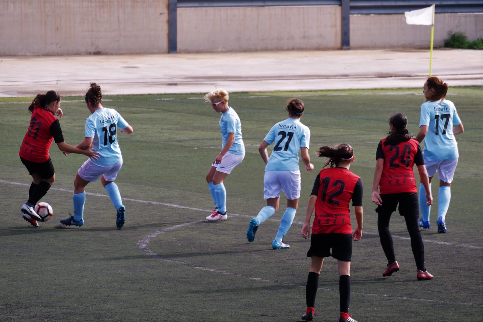 El femenino de fútbol se impone al Atlético Estudiantes B
