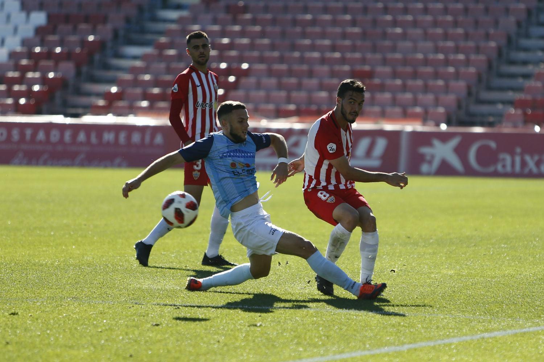 La plantilla celeste luchará el domingo en el derbi contra el Almería B con el objetivo de vencer y convencer