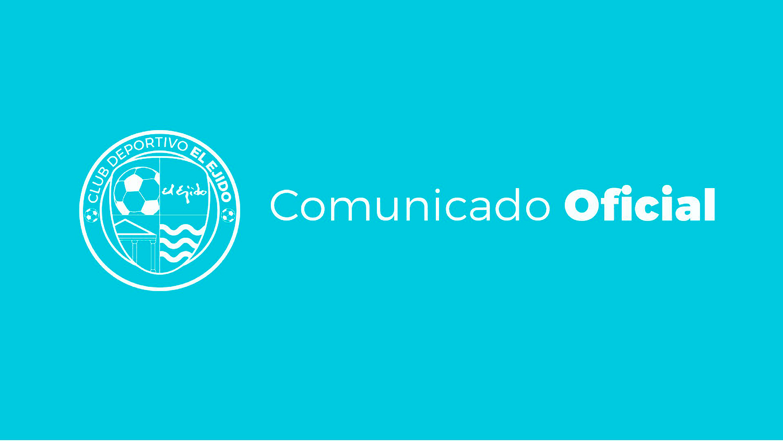 COMUNICADO: El CD El Ejido y Jordan Sebban finalizan su relación contractual