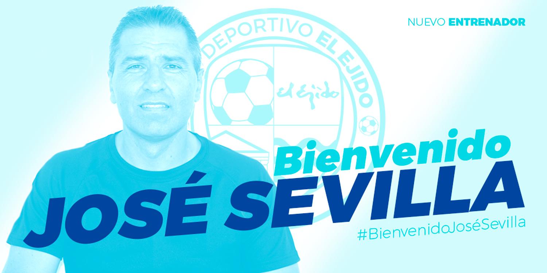 José Sevilla, nuevo entrenador del CD El Ejido