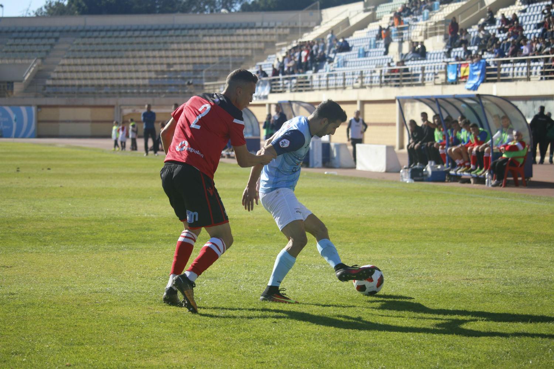 Un gol en el descuento deja sin una buena victoria a los celestes frente al Melilla