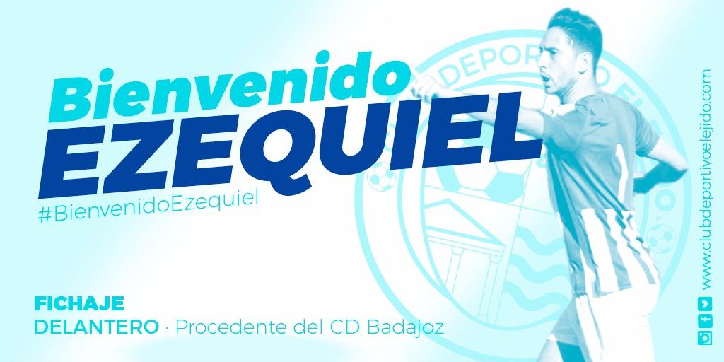 El CD El Ejido ficha al delantero Ezequiel