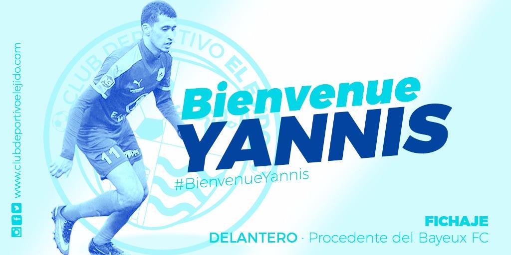 El CD El Ejido ficha al delantero francés Yannis