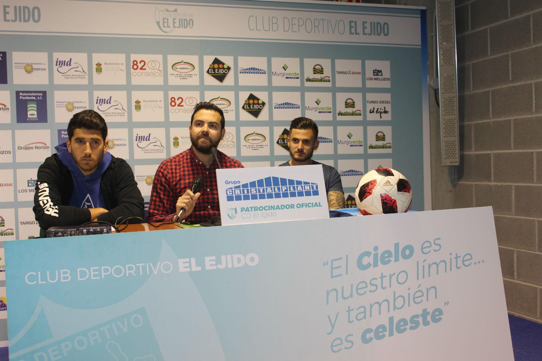 Uru y José Artiles preparados y motivados para debutar el domingo en El Ejido