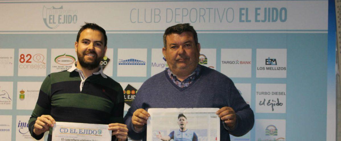 El periódico del Club Deportivo El Ejido presenta su proyecto a la sociedad