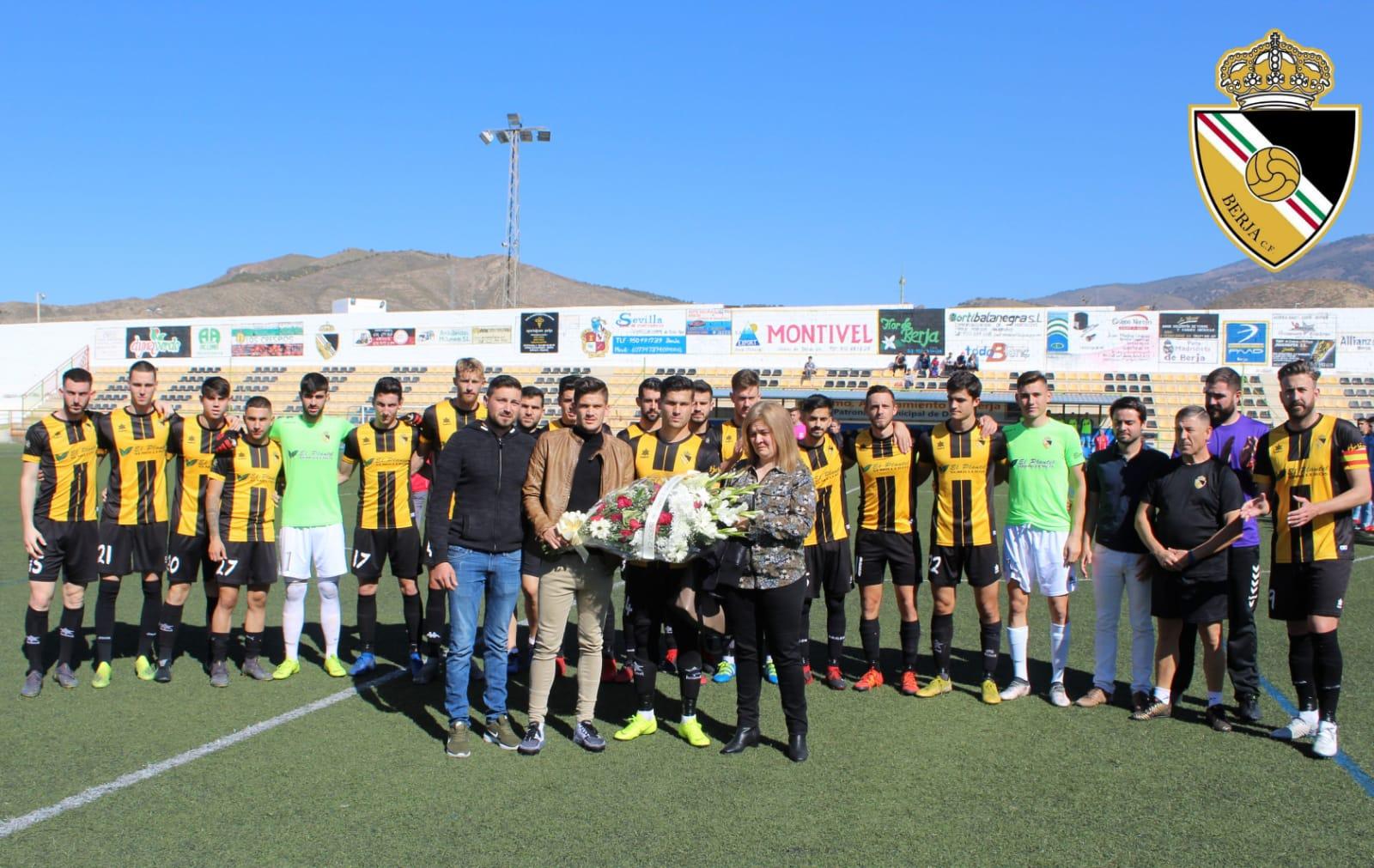 El Berja CF cede puntos frente al Atlético de Coín pero sigue tercero
