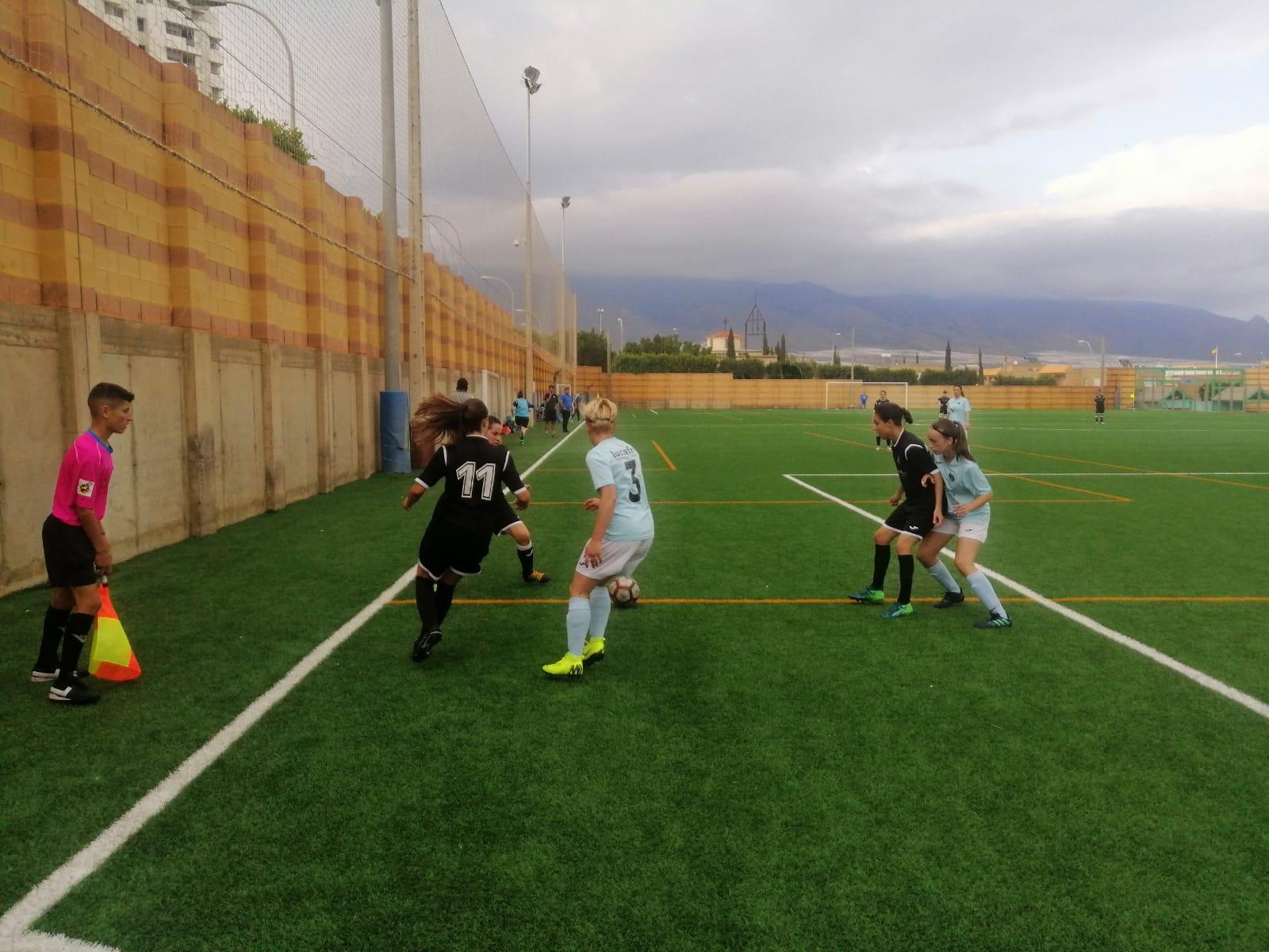 Primera victoria para el femenino frente al Atlético Estudiantes en la Copa Diputación