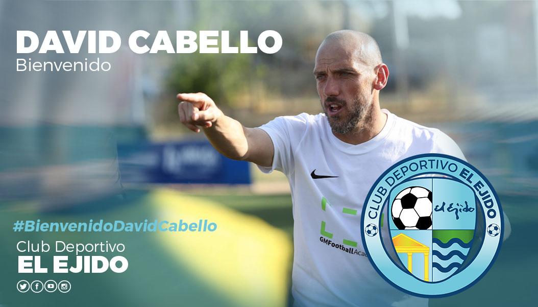 José David Cabello dirigirá al CD El Ejido la próxima temporada