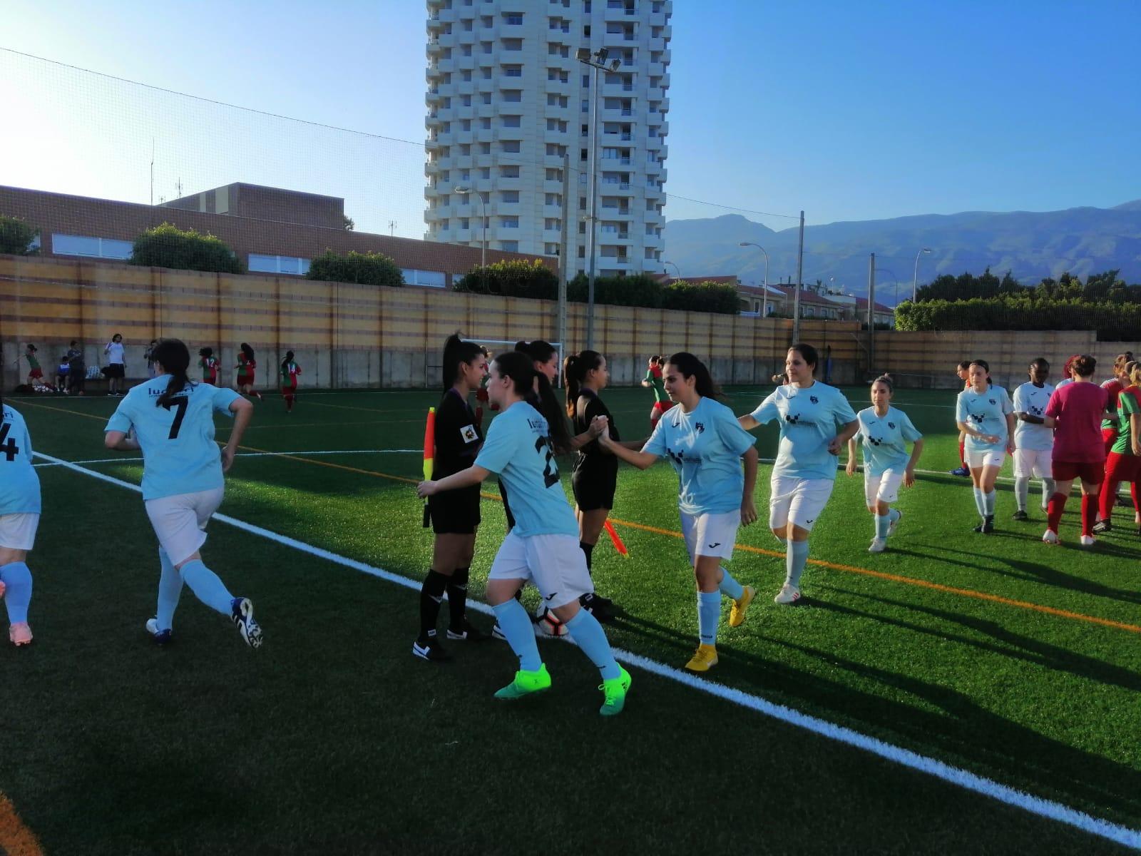 El equipo femenino del CD El Ejido juega este miércoles frente a la UD Almería