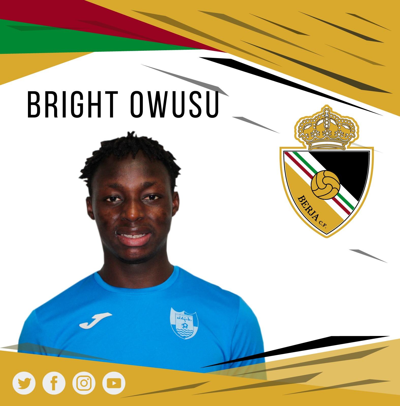 El Berja CF ficha al jugador ghanés Bright