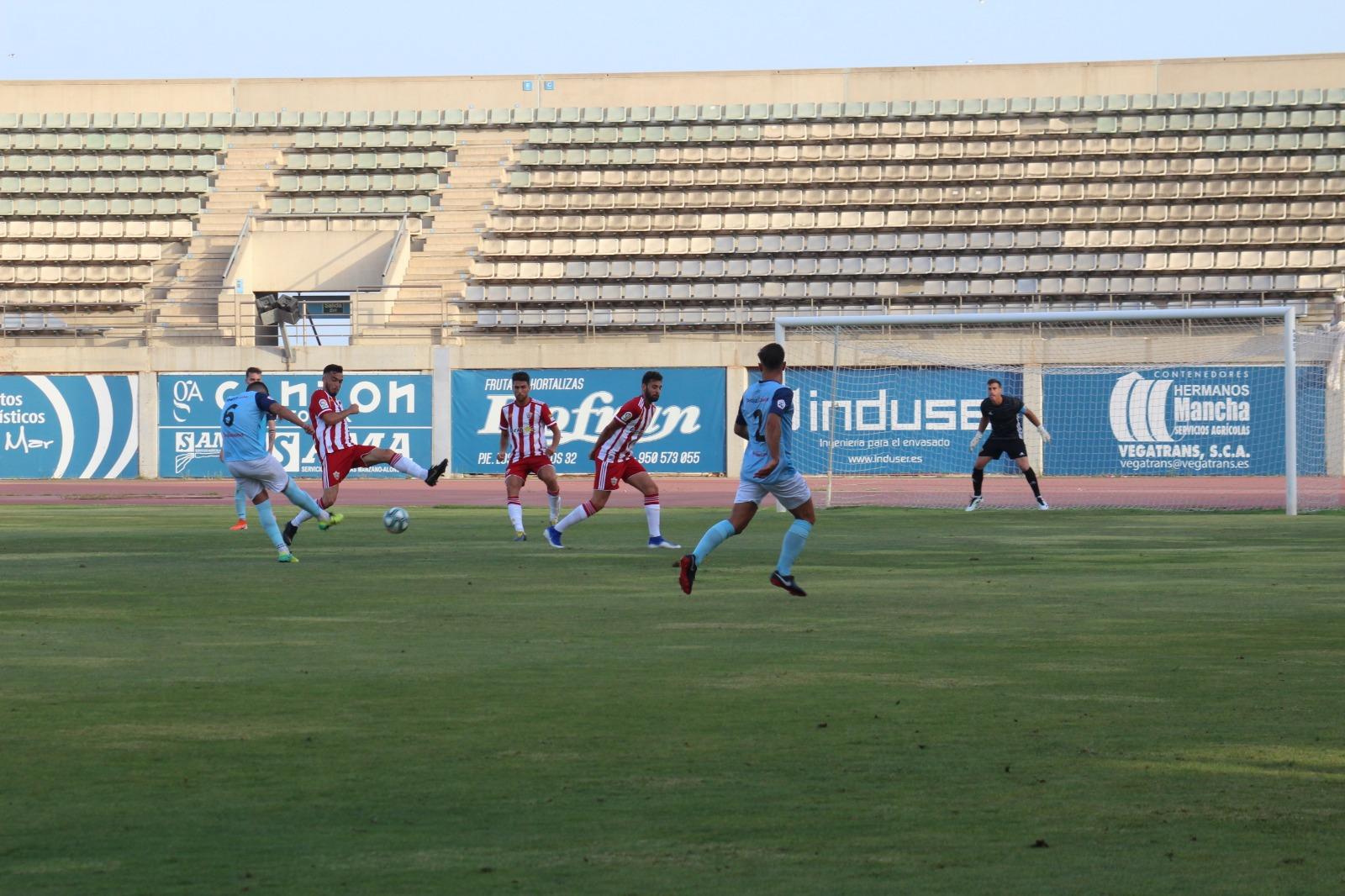 El CD El Ejido afronta este domingo el derbi frente al Almería B con máxima concentración y motivación