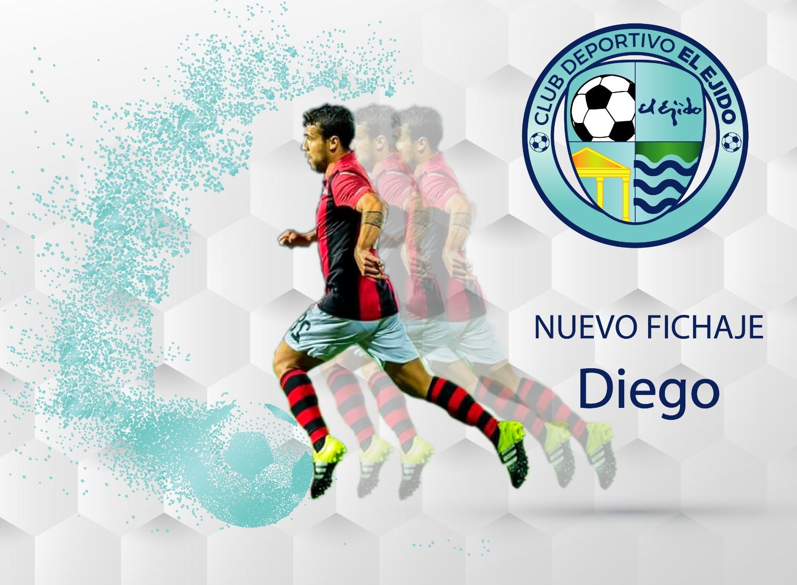 Diego Gámiz llega para darle forma a la línea de ataque del CD El Ejido