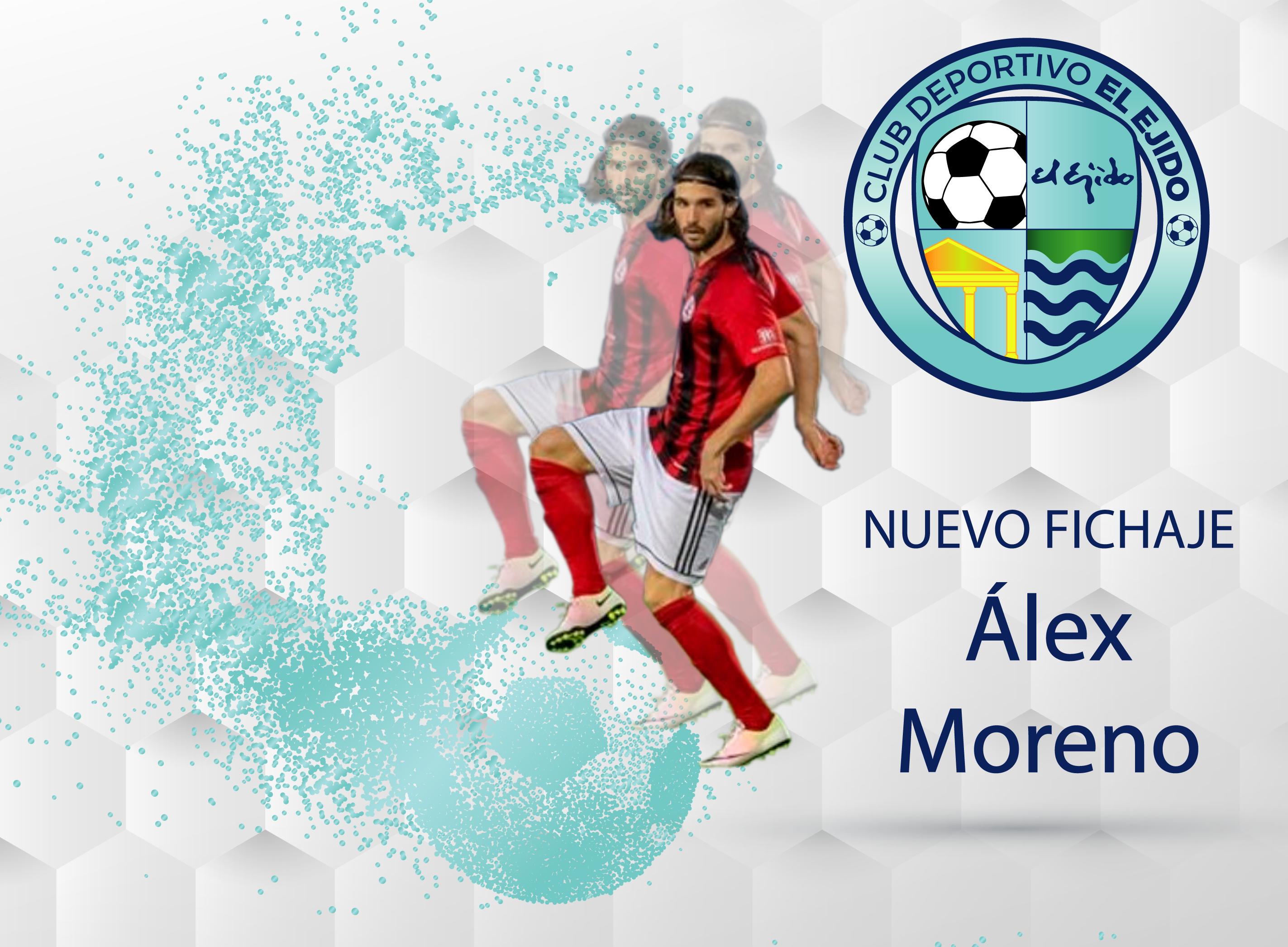 El centrocampista Álex Moreno, nueva incorporación del CD El Ejido