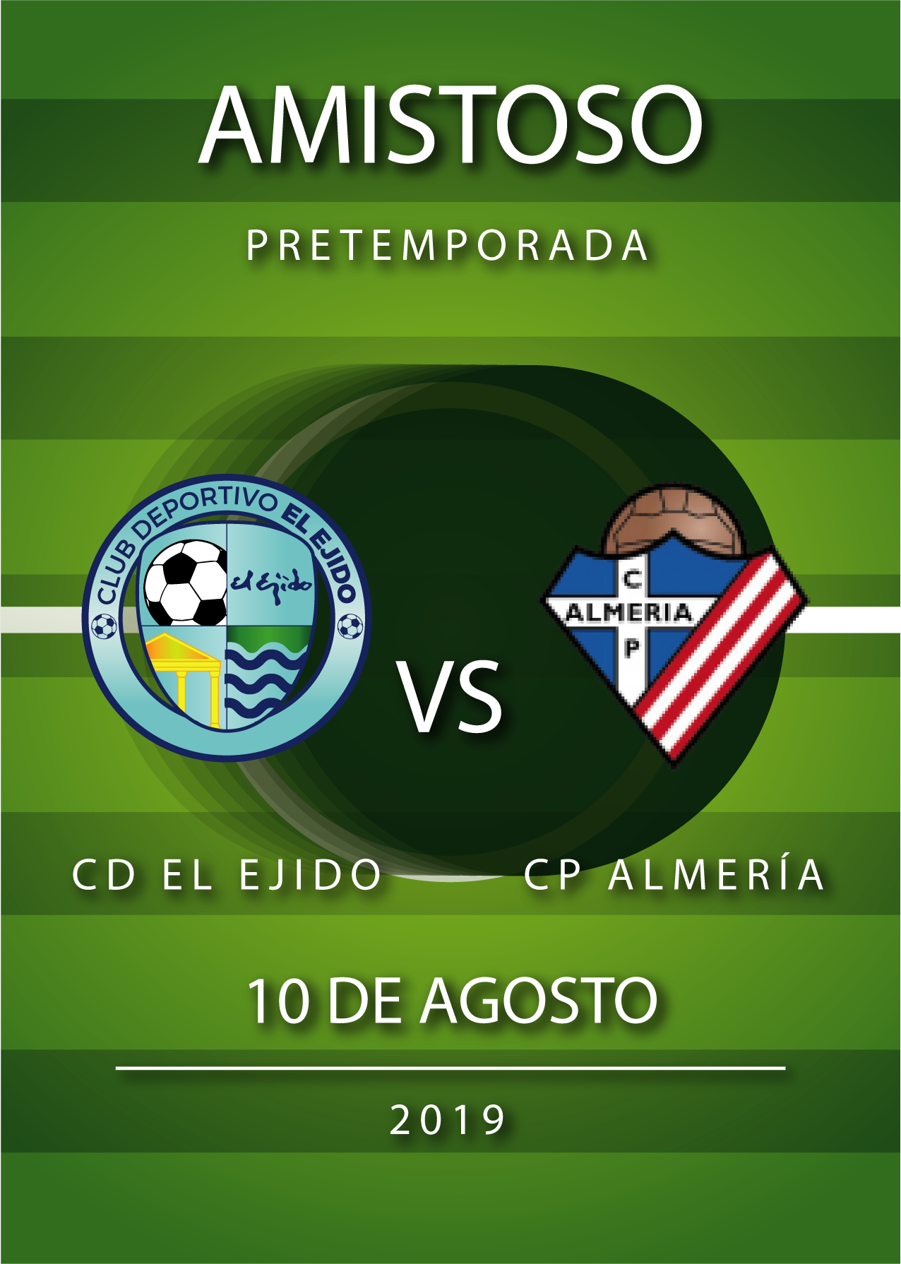 El CD El Ejido jugará un amistoso el 10 de agosto contra el Poli Almería