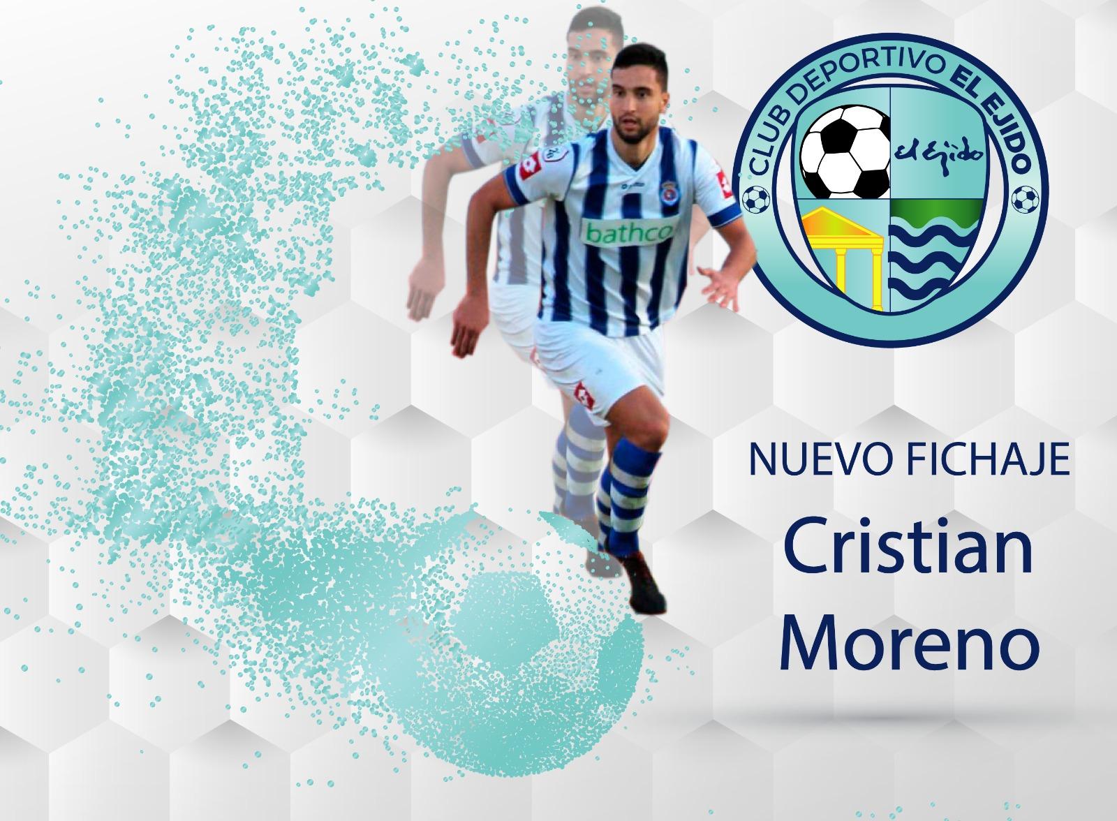 Cristian Moreno fortalece la defensa ejidense