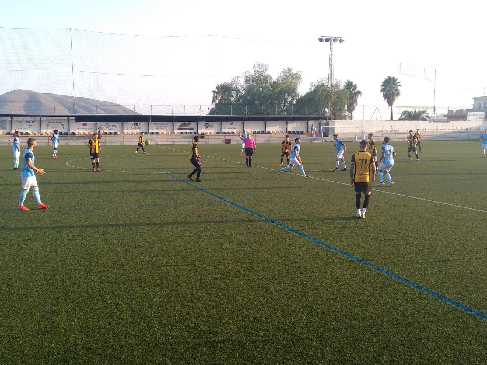 El Berja CF y el CD El Ejido empataron a tres tantos en el municipal virgitano