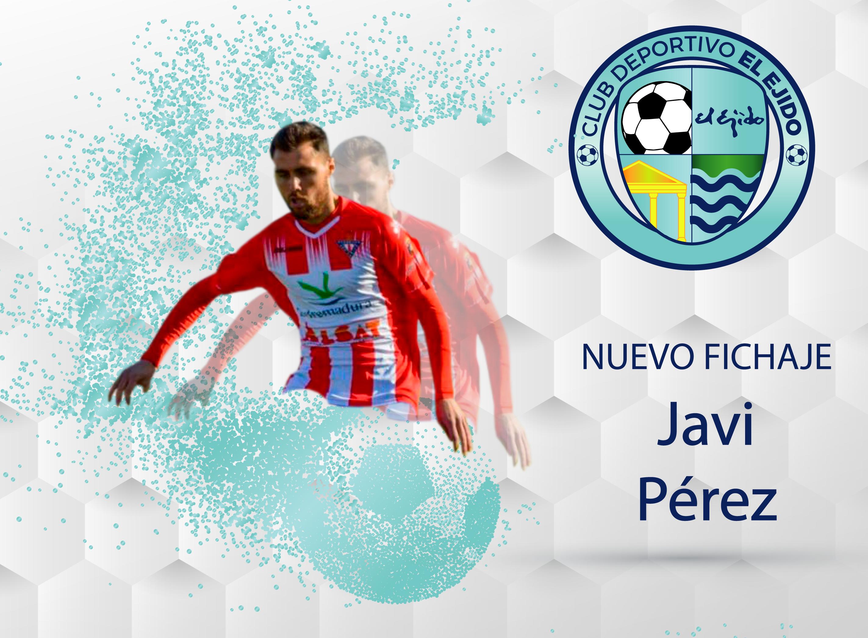 El central almeriense Javi Pérez firma con el CD El Ejido