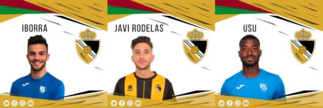 Los juveniles Usu, Iborra y Javi Rodelas jugarán en el Berja CF