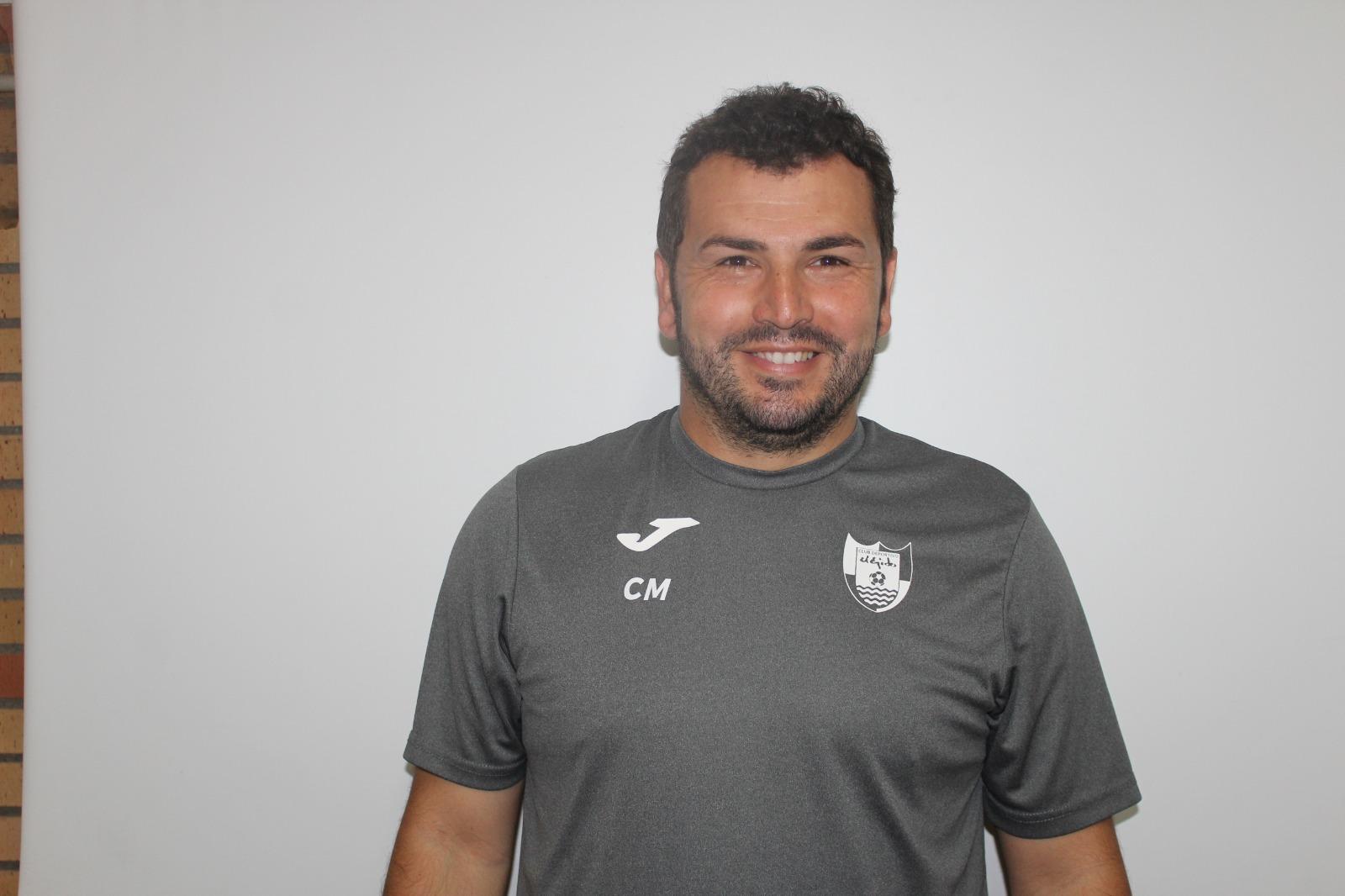 Rafa Morales, segundo entrenador del CD El Ejido