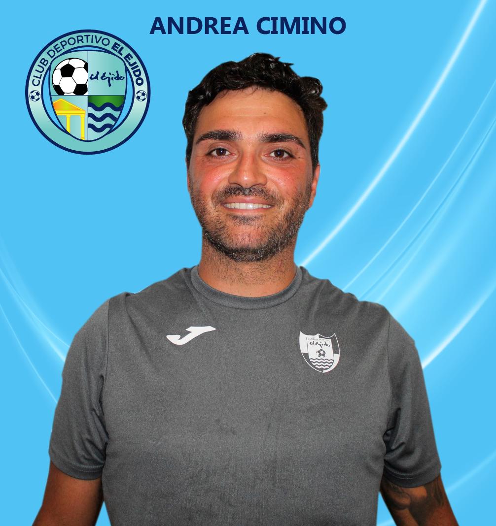 Andrea Cimino se une al cuerpo técnico del primer equipo como entrenador de porteros