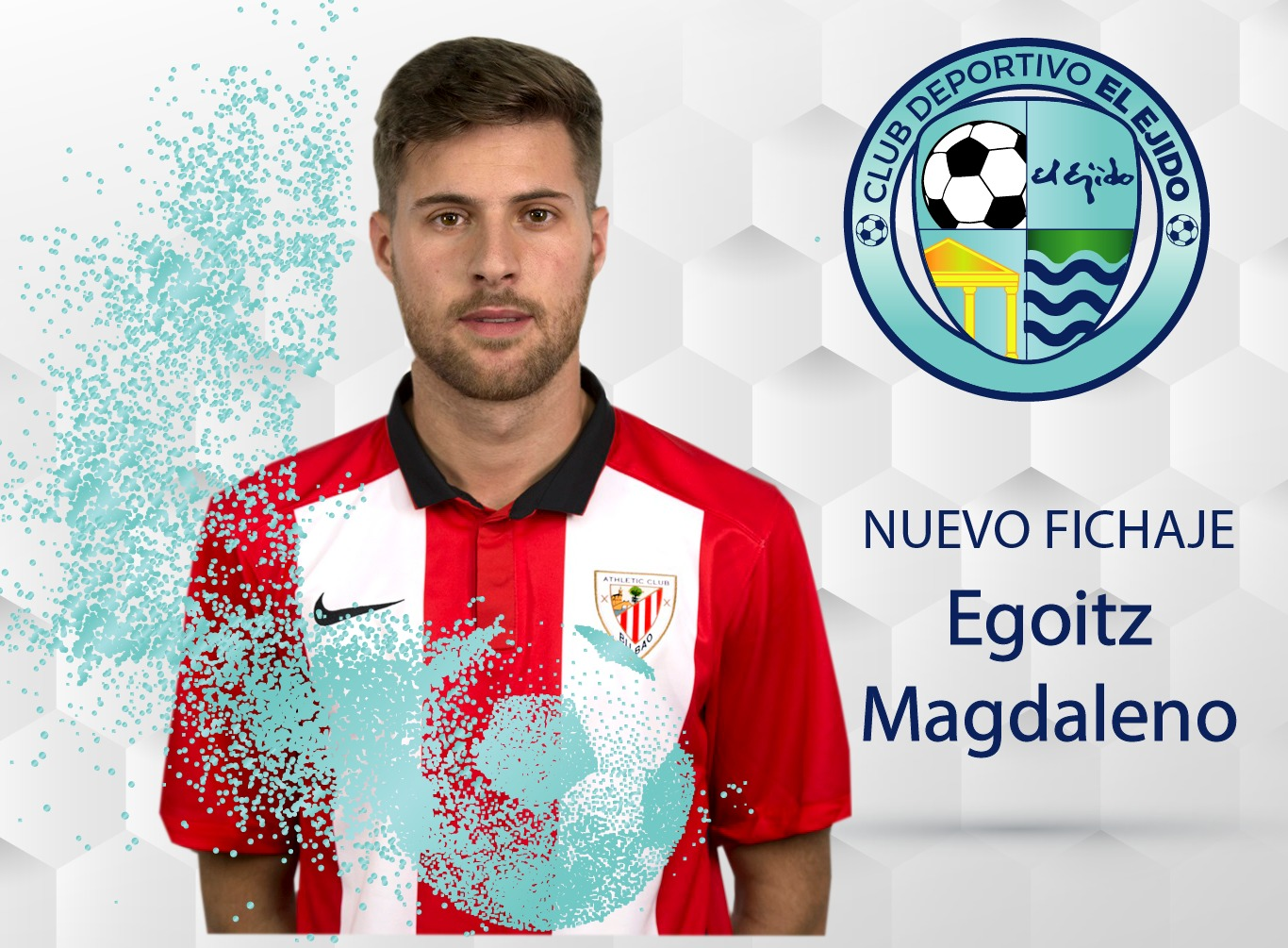 Egoitz Magdaleno vestirá de celeste la próxima temporada