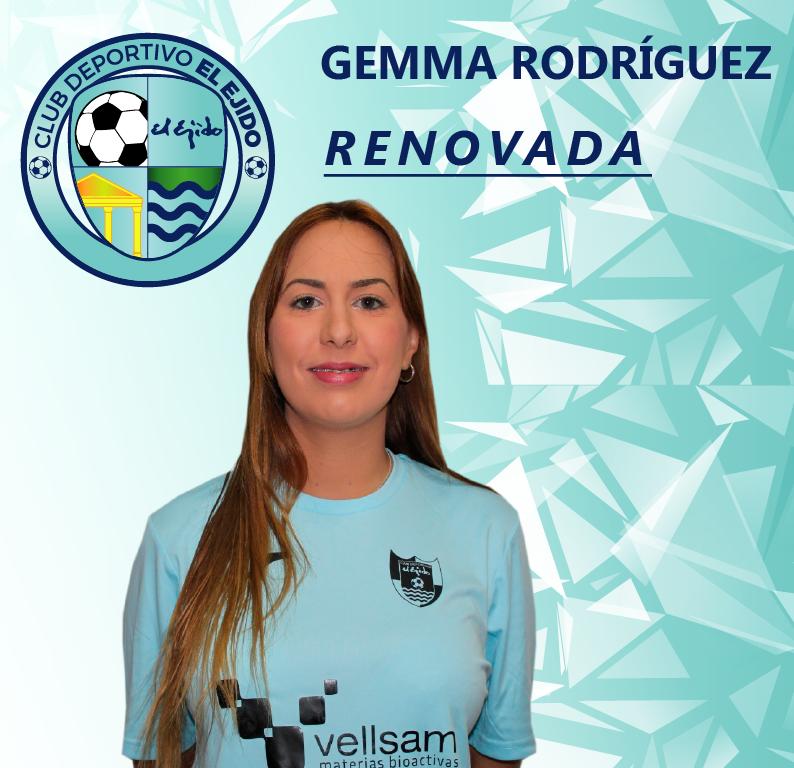 Gemma Rodríguez y Lorena Martín continuarán esta temporada en el CD El Ejido