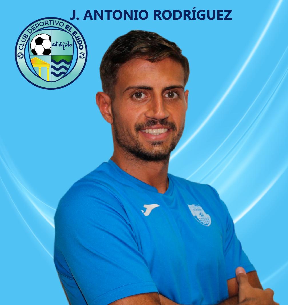 El CD El Ejido firma al roquetero José Antonio Rodríguez