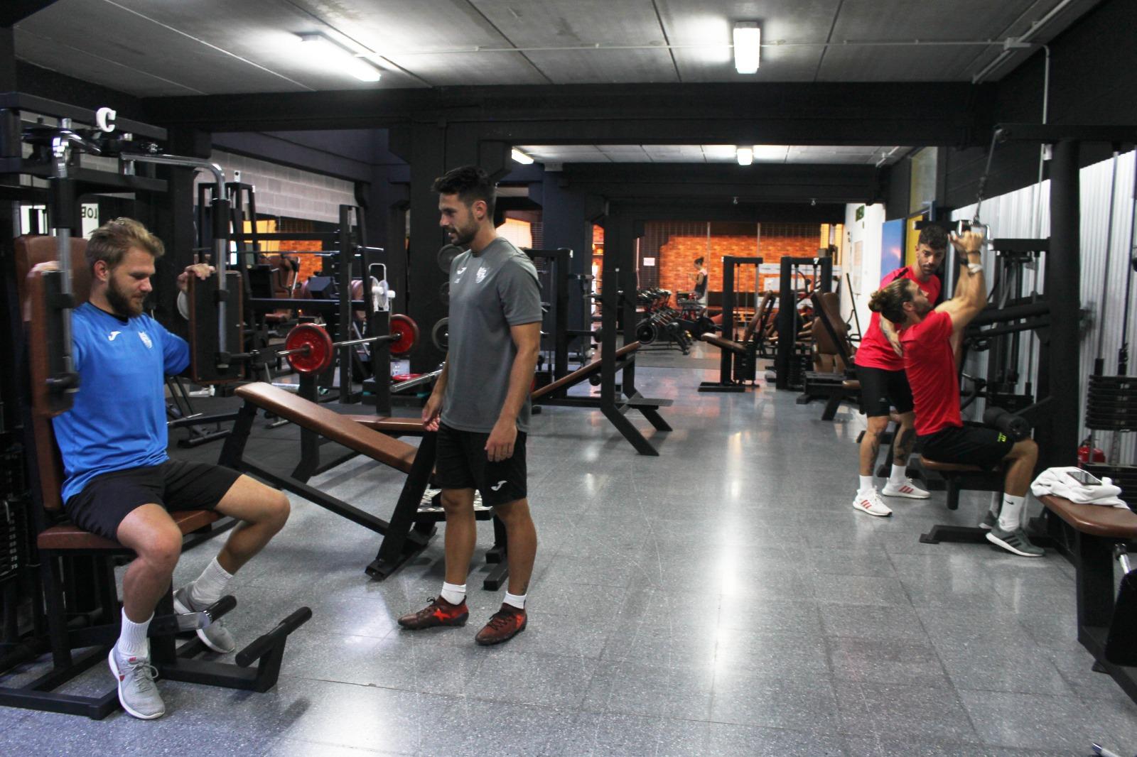 Lobero Fit se convierte en sede de trabajo del primer equipo del CD El Ejido